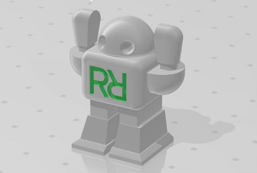 Tečku za odpolednem učinil v 17:35 poslední vytištěný robot Robomaniaků z Rýnovic